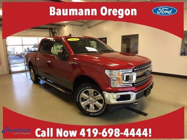 2020 Magnetic Metallic Ford F-150 LARIAT 4 Door 2.7L V6 EcoBoost Engine Truck 4X4 Automatic