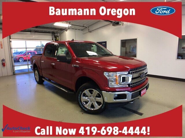 2020 Rapid Red Metallic Tinted Clearcoat Ford F-150 XLT 2.7L V6 EcoBoost Engine 4X4 Automatic 4 Door