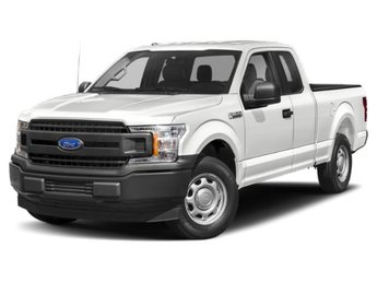 2019 Oxford White Ford F-150 RWD Automatic 2.7L V6 Engine