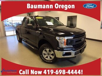 2019 Agate Black Ford F-150 XL 4X4 4 Door Automatic