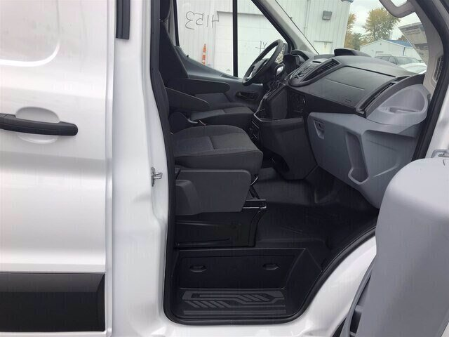 2019 Oxford White Ford Transit-250 Base 3.7L V6 Engine Automatic 3 Door RWD Van