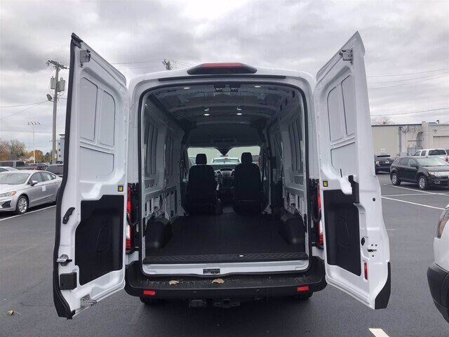 2019 Oxford White Ford Transit-250 Base 3 Door Automatic 3.7L V6 Engine Van