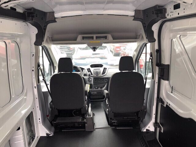 2019 Oxford White Ford Transit-250 Base RWD Automatic 3.7L V6 Engine