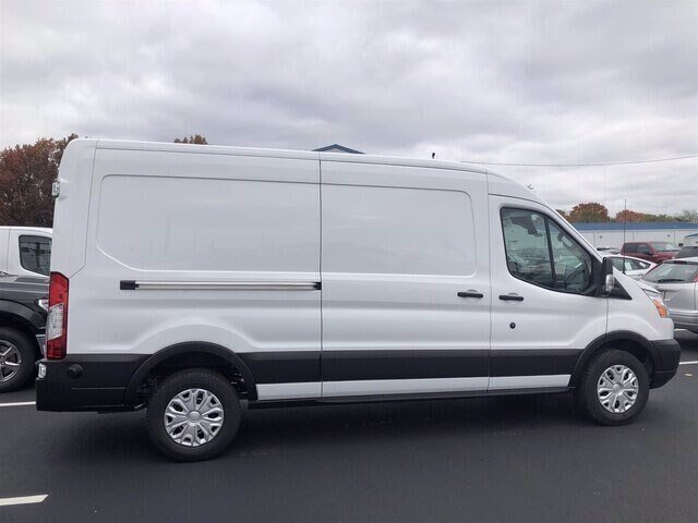 2019 Oxford White Ford Transit-250 Base 3.7L V6 Engine Van RWD Automatic 3 Door