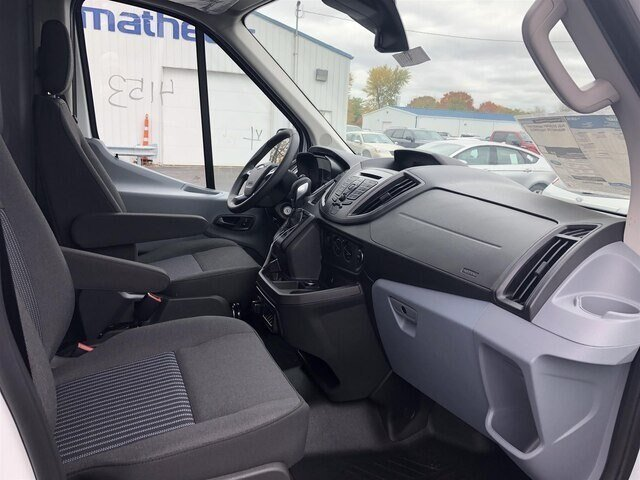 2019 Oxford White Ford Transit-250 w/Sliding Pass-Side Cargo Door Automatic RWD 3 Door 3.7L V6 Engine Van