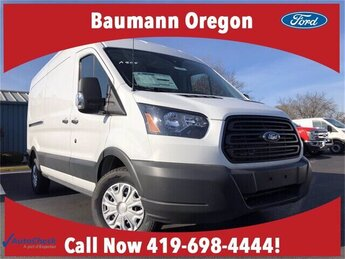 2018 Oxford White Ford Transit-250 Base 3.7L V6 Engine Automatic RWD Van