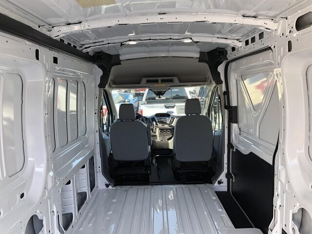2018 Ford Transit-250 w/Sliding Pass-Side Cargo Door 3.7L V6 Engine Van RWD Automatic