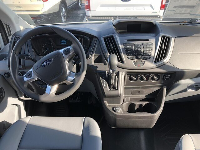 2018 Oxford White Ford Transit-250 w/Sliding Pass-Side Cargo Door 3 Door RWD Automatic Van