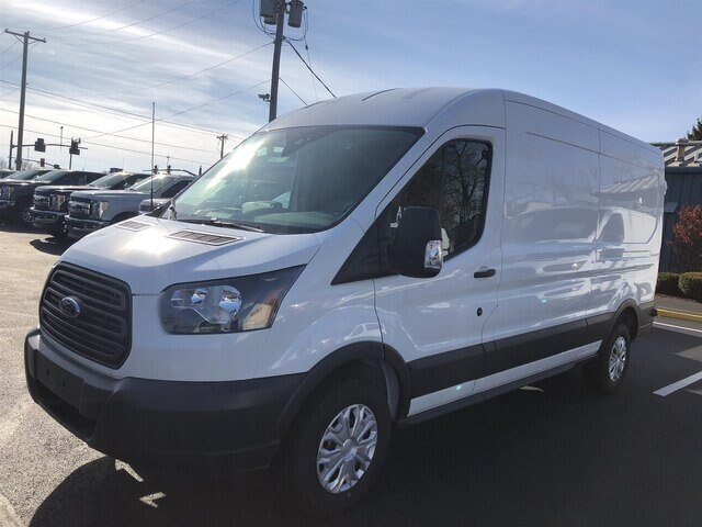 2018 Ford Transit-250 w/Sliding Pass-Side Cargo Door 3.7L V6 Engine Automatic Van 3 Door RWD