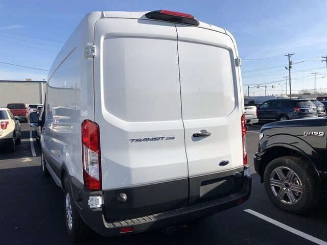 2018 Oxford White Ford Transit-250 w/Sliding Pass-Side Cargo Door Van Automatic 3.7L V6 Engine