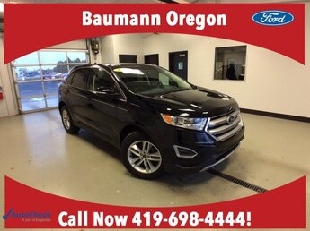 2018 Shadow Black Ford Edge SEL Automatic Regular Unleaded V-6 3.5 L/213 Engine SUV