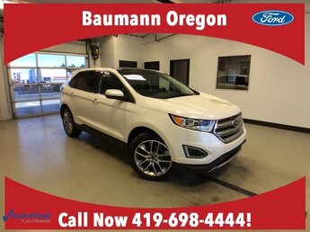 2017 Ford Edge Titanium Automatic 3.5L V6 Engine AWD SUV 4 Door