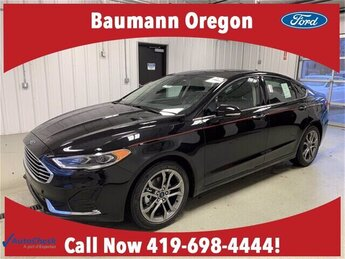 2020 Agate Black Metallic Ford Fusion SEL FWD Sedan 1.5L 4 cyls Engine Automatic 4 Door