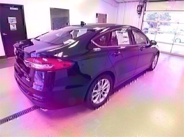 2020 Blue Ford Fusion SE 1.5L 4 cyls Engine Automatic Sedan