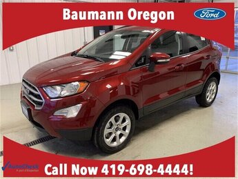 2020 Ruby Red Ford EcoSport SE 4X4 SUV Automatic 2.0L 4 cyls Engine 4 Door