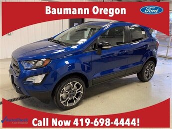 2020 Lightning Blue Metallic Ford EcoSport SES 4 Door 2.0L 4 cyls Engine 4X4