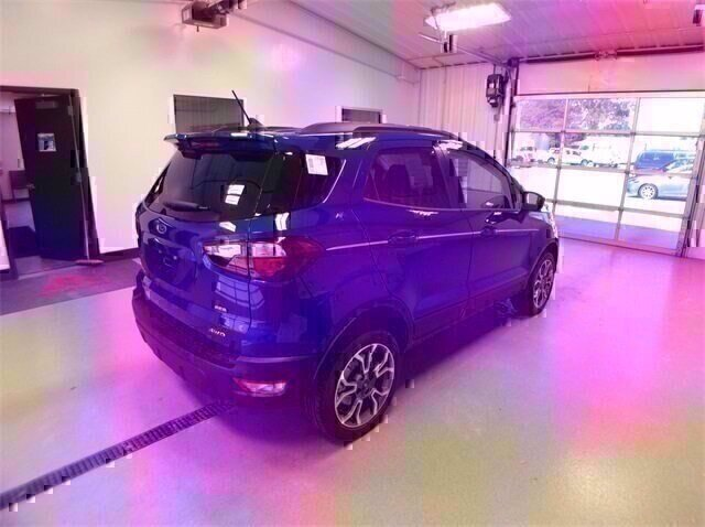 2020 Lightning Blue Metallic Ford EcoSport SES 4X4 SUV 2.0L 4 cyls Engine Automatic 4 Door