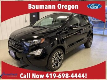 2020 Shadow Black Ford EcoSport SES 4 Door 2.0L 4 cyls Engine SUV