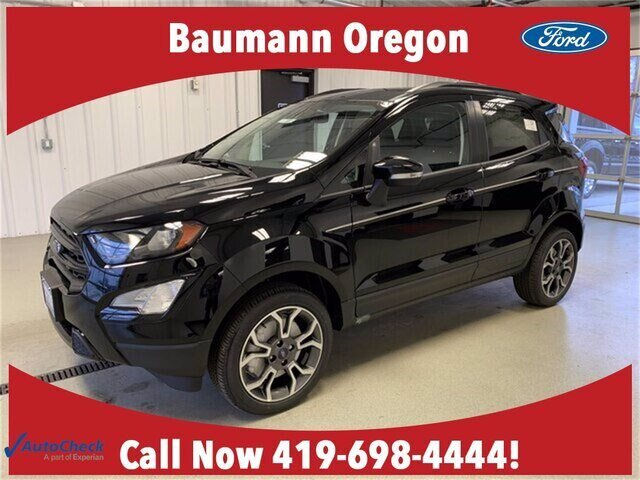 2020 Shadow Black Ford EcoSport SES 2.0L 4 cyls Engine 4 Door 4X4