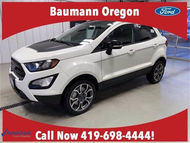 2020 Diamond White Ford EcoSport SES 4X4 4 Door 2.0L 4 cyls Engine SUV