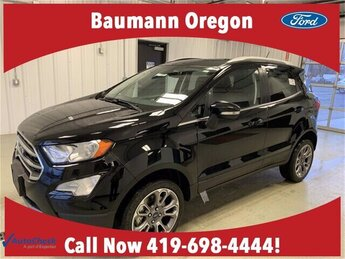 2020 Shadow Black Ford EcoSport Titanium Automatic SUV 4 Door 2.0L 4 cyls Engine