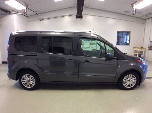 2020 Magnetic Metallic Ford Transit Connect XLT 4 Door I4 Engine FWD