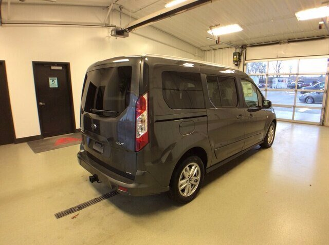 2020 Magnetic Metallic Ford Transit Connect XLT Van Automatic FWD