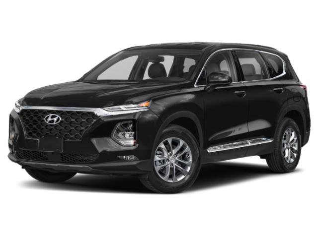 2020 Twilight Black Hyundai Santa Fe SEL Automatic SUV 4 Door