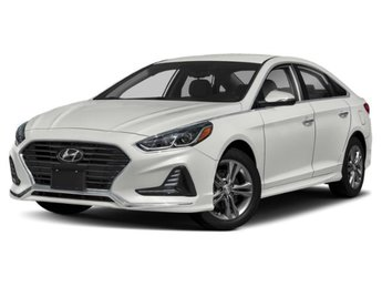 2019 Quartz White Pearl Hyundai Sonata SE 4 Door Automatic Sedan FWD