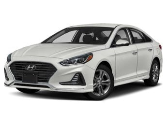 2019 Quartz White Pearl Hyundai Sonata SE Sedan FWD Regular Unleaded I-4 2.4 L/144 Engine Automatic 4 Door