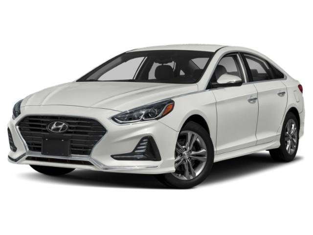 2019 Quartz White Pearl Hyundai Sonata SE FWD Automatic Regular Unleaded I-4 2.4 L/144 Engine