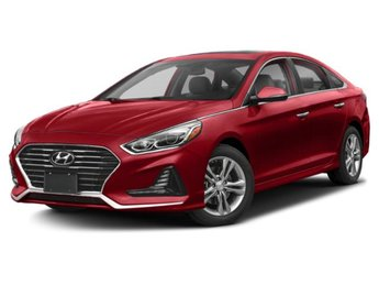 2019 Scarlet Red Hyundai Sonata Limited Regular Unleaded I-4 2.4 L/144 Engine 4 Door Sedan
