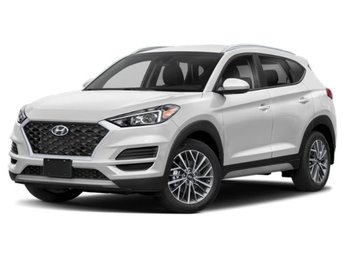 2020 Cream White Pearl Hyundai Tucson SEL Automatic AWD 4 Door