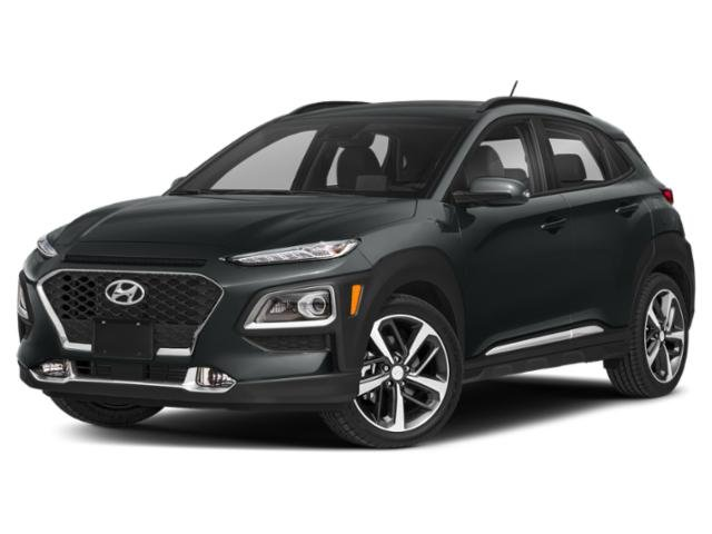 2020 Thunder Gray Hyundai Kona Limited Automatic FWD Intercooled Turbo Regular Unleaded I-4 1.6 L/97 Engine