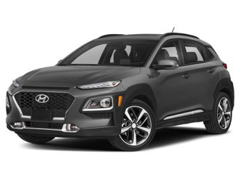 2020 Sonic Silver Hyundai Kona Limited AWD Automatic 4 Door Intercooled Turbo Regular Unleaded I-4 1.6 L/97 Engine
