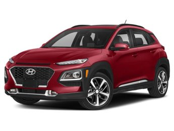 2020 Pulse Red Hyundai Kona Limited Intercooled Turbo Regular Unleaded I-4 1.6 L/97 Engine Automatic AWD 4 Door SUV
