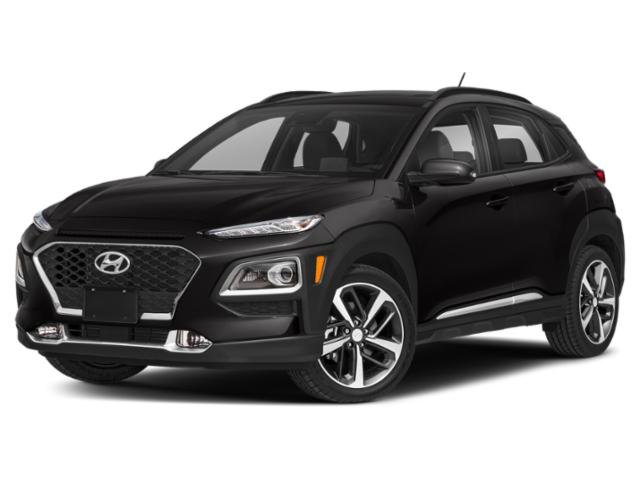 2020 Ultra Black Hyundai Kona Ultimate SUV 4 Door Intercooled Turbo Regular Unleaded I-4 1.6 L/97 Engine