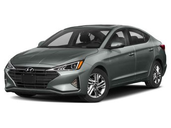 2020 Stellar Silver Hyundai Elantra Limited Regular Unleaded I-4 2.0 L/122 Engine Sedan Automatic (CVT) FWD 4 Door