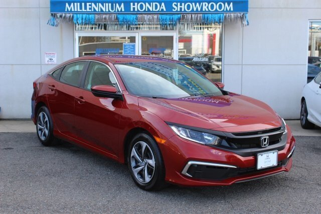 2019 Honda Civic LX 4 Door 2.0L I4 DOHC 16V i-VTEC Engine Automatic (CVT) FWD Sedan