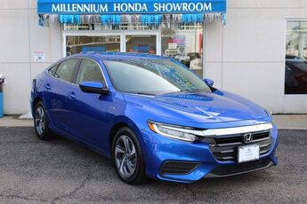 2019 Aegean Blue Metallic Honda Insight LX Sedan Automatic (CVT) 1.5L I4 SMPI Hybrid DOHC 16V LEV3-SULEV30 Engine FWD