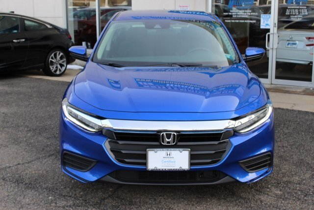 2019 Aegean Blue Metallic Honda Insight LX Sedan 4 Door 1.5L I4 SMPI Hybrid DOHC 16V LEV3-SULEV30 Engine Automatic (CVT) FWD