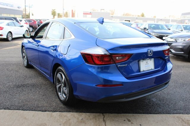 2019 Aegean Blue Metallic Honda Insight LX Automatic (CVT) 4 Door Sedan 1.5L I4 SMPI Hybrid DOHC 16V LEV3-SULEV30 Engine