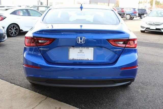 2019 Honda Insight LX 4 Door FWD 1.5L I4 SMPI Hybrid DOHC 16V LEV3-SULEV30 Engine Sedan
