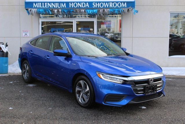 2019 Aegean Blue Metallic Honda Insight EX FWD 1.5L I4 SMPI Hybrid DOHC 16V LEV3-SULEV30 Engine Sedan 4 Door Automatic (CVT)