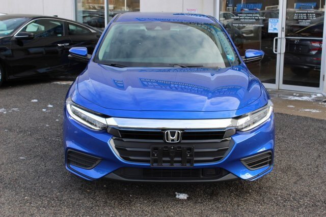 2019 Aegean Blue Metallic Honda Insight EX 4 Door FWD 1.5L I4 SMPI Hybrid DOHC 16V LEV3-SULEV30 Engine Automatic (CVT) Sedan