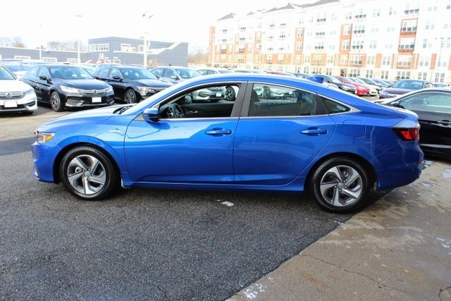 2019 Aegean Blue Metallic Honda Insight EX Automatic (CVT) Sedan FWD