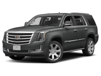 2019 Shadow Metallic Cadillac Escalade Premium Luxury 4 Door Automatic SUV 6.2L V8 Engine 4X4