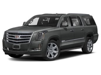 2019 Shadow Metallic Cadillac Escalade ESV Luxury 6.2L V8 Engine Automatic 4 Door SUV