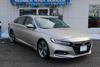 2019 Honda Accord Touring 2.0T Automatic FWD I4 DOHC 16V Turbocharged Engine Sedan