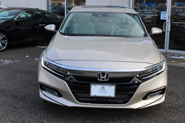 2019 Honda Accord Touring 2.0T I4 DOHC 16V Turbocharged Engine 4 Door FWD Automatic